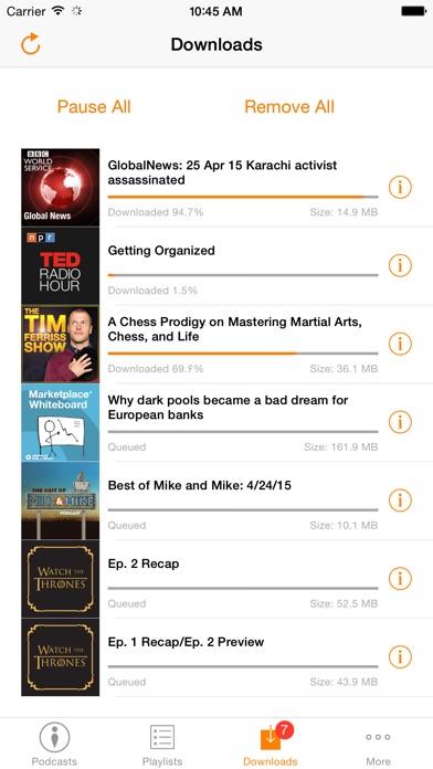 Podbox - Podcast Player Screenshot
