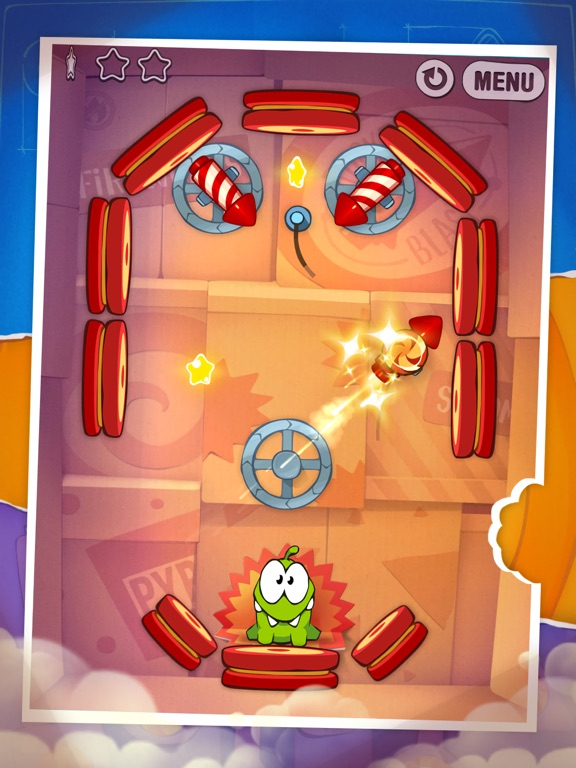 Screenshot #3 for Cut the Rope: Experiments HD ™