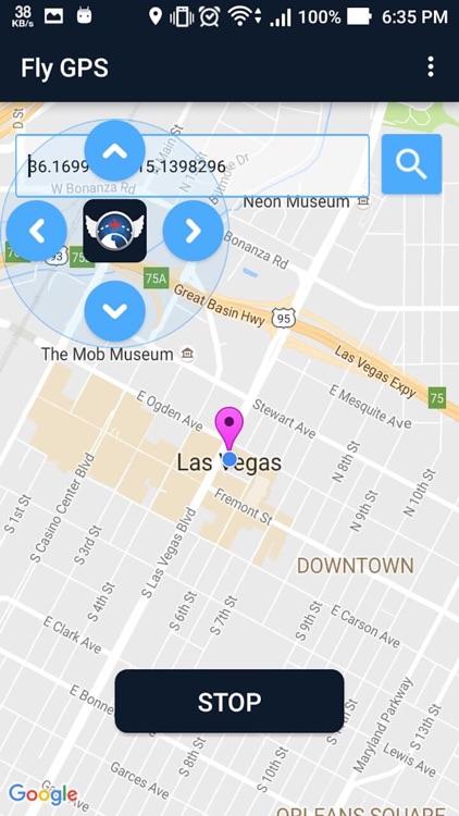 Fly GPS - Fake GPS & Fake Location Photo spoofer by Kylie Alexa