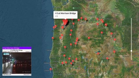 Screenshot #2 for Oregon Traffic Cameras Pro
