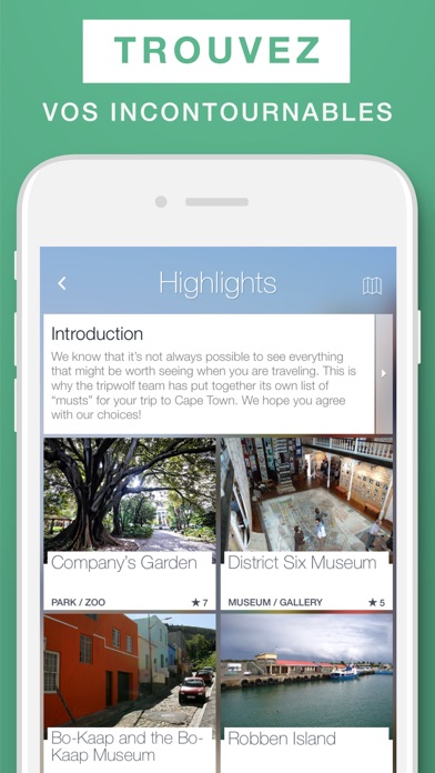Le Cap – guide de voyage & carte offlineCapture d'écran de 2