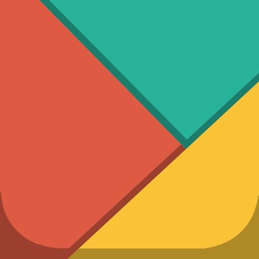 Tangram Master - free mind pop game iOS App