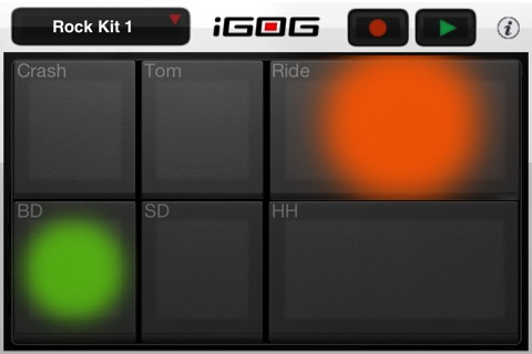 iGOG: Massive Drums screenshot 1