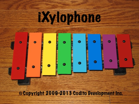 Screenshot #1 for iXylophone Lite - Play Along Xylophone For Kids