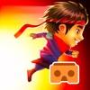 Ninja Kid Run VR: Runner & Racing Games For Free logo