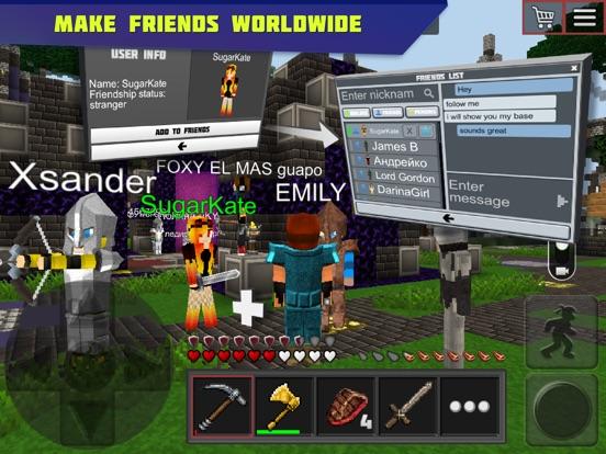 Planet of Cubes Survival Games Screenshots