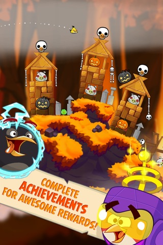 Angry Birds Seasons screenshot 2