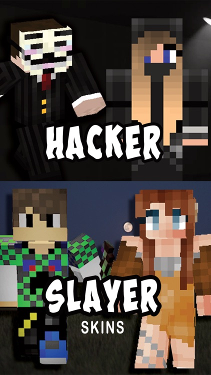 Hackers Bloodline Slayers Skins For Minecraft Pe By Huong Nguyen - Skins para minecraft pe hacks
