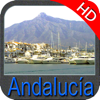 Marine : Andalusia (Spain) HD - GPS Map Navigator