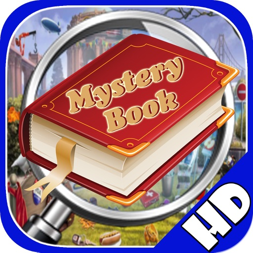 Free Hidden Objects:Mystery Book Hidden Object iOS App