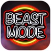 Beast Mode Workout Motivation Sticker Pack