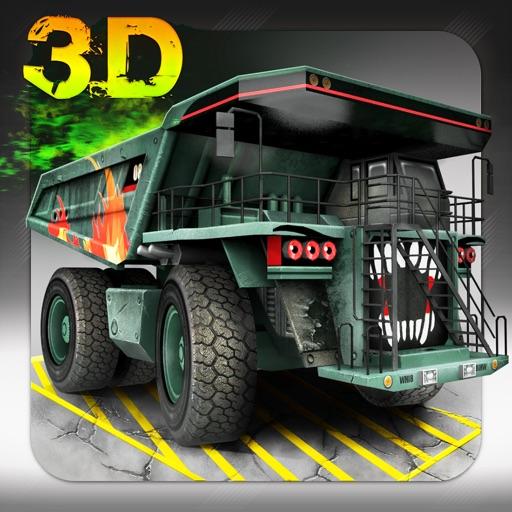 Skill 3D Parking - Radioactive Rumble iOS App