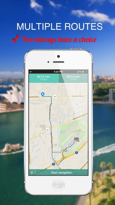 Screenshot of Qatar : Offline navigazione GPS3