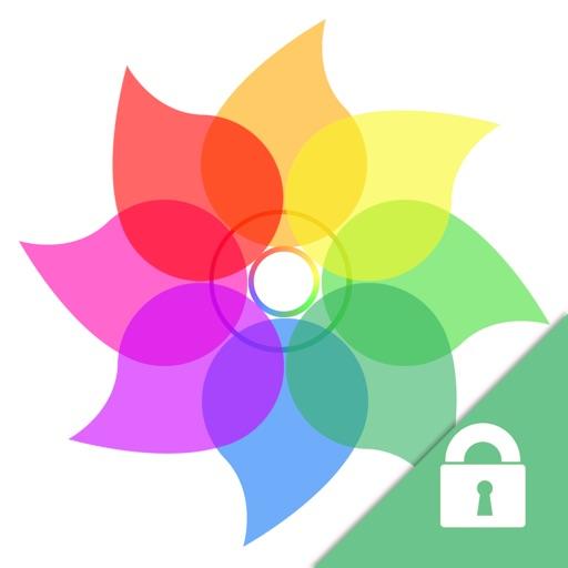 私密的照片视频保险箱 柜 -iVault- 用 密码锁住隐私相片 & 秘密电影的加密的文件夹管理 器 + 文件WiFi无线传输 + 私人相册管家 + 免费个人图片整理助手
