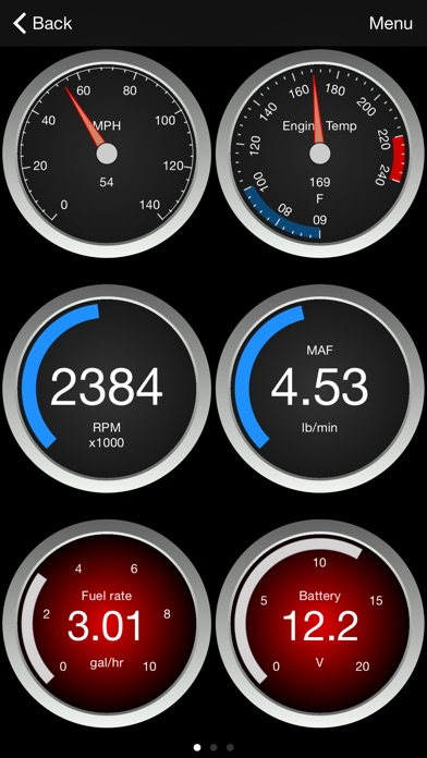OBD Fusion Screenshot