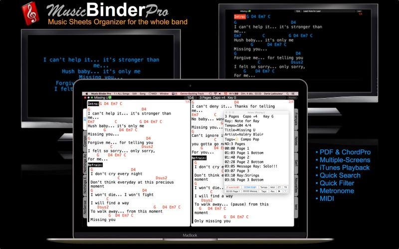 Music Binder Pro Screenshots