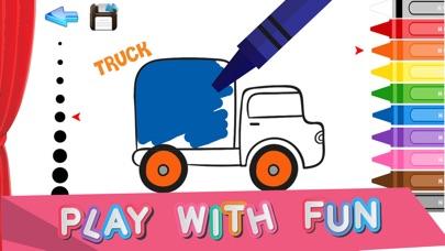 mini car coloring - 儿童汽车画画涂色游戏