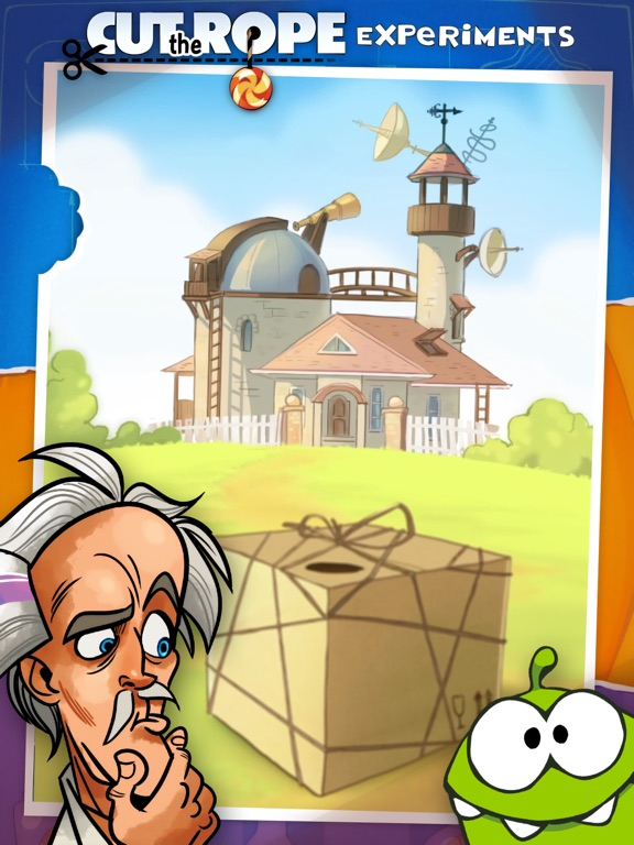 Screenshot #2 for Cut the Rope: Experiments HD ™