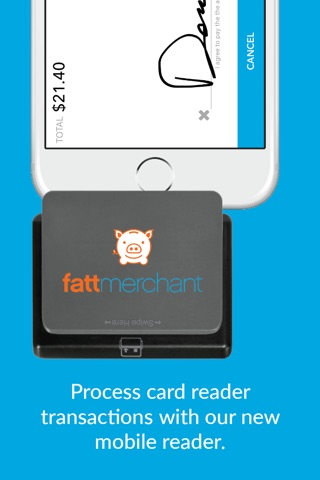 Fattmerchant Payments Mobile screenshot 2