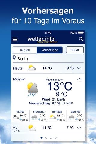 Wetter von t-online.de screenshot 4