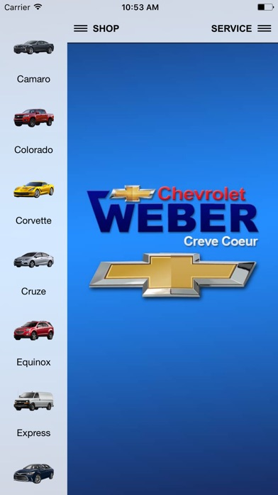 Screenshot of Weber Chevrolet1
