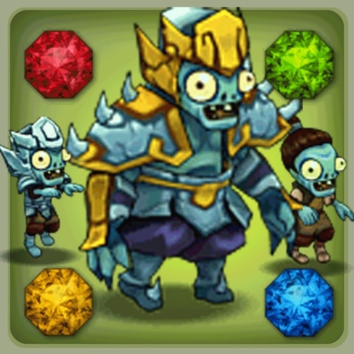 Zombies Crush: Tower Defense & Strategy Game Free iOS App