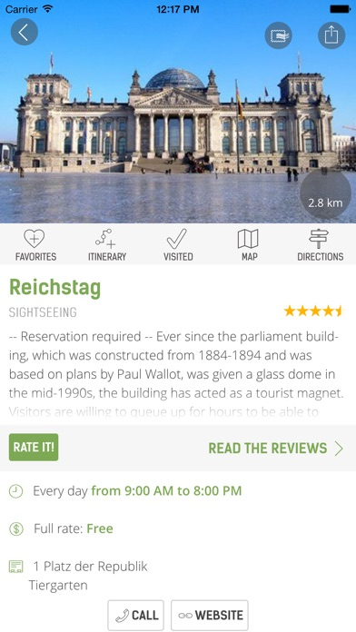 Berlin Travel Guide - mTrip Screenshot 5