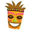 Tiki Stickers app for iPhone/iPad