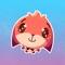 Herunterladen Little Cute Fox Stickers Pack for iMessage