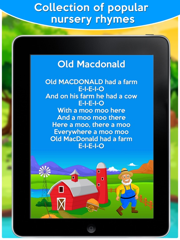 Screenshot #1 for Top Nursery Rhymes For Kids And Toddlers