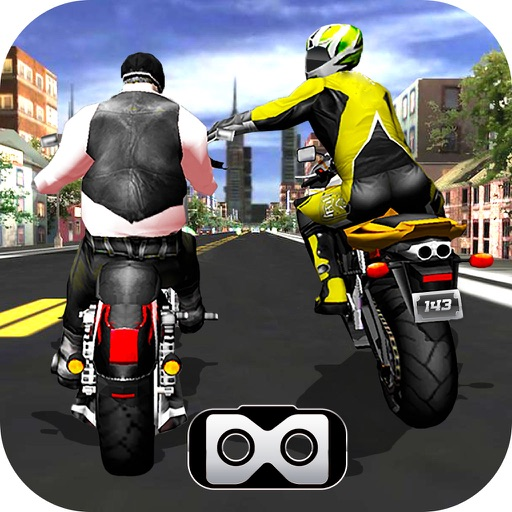 VR Highway Moto Bike Attack : 3D New Race-r 2017 iOS App
