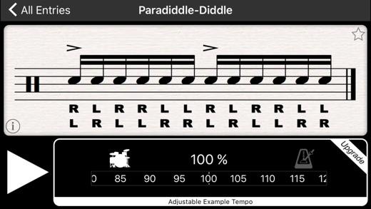 Learn drum beats application