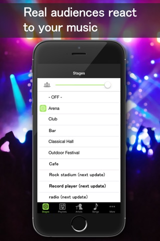 Music Live - Music player&Live concert simulator screenshot 2