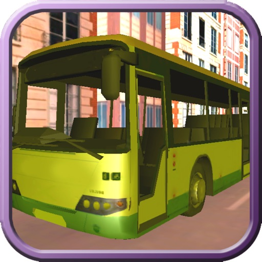 A Reckless School Bus Heat Racing - 3D Burnout Race In Miami iOS App