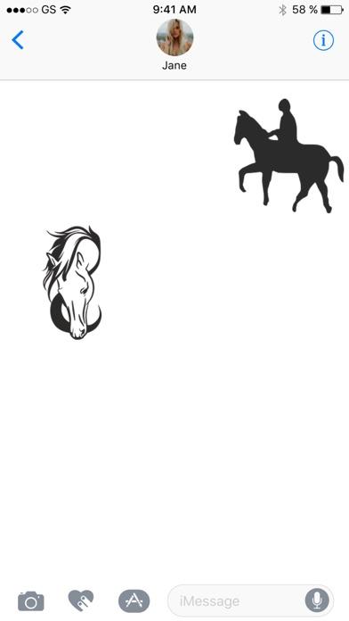 Лошадь наклейка обновления!Скриншоты 2