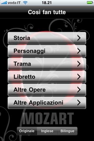 Screenshot of Opera: Così fan tutte1