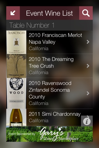 Winevento - the wine event app screenshot 3