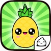 Pineapple Evolution Food Clicker game free for iPhone/iPad