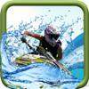 Carolina Vergara - A Cross Jet Ski Fast : Overflowing Sea  artwork