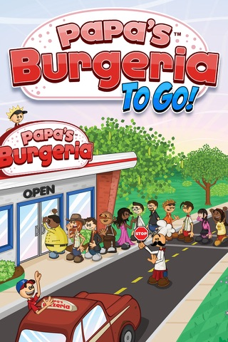 Papa's Burgeria To Go! screenshot 1