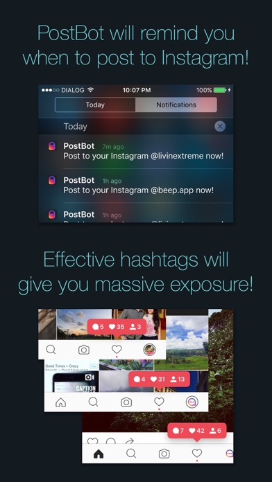 Screenshot #10 for PostBot 3 for Instagram- Best time to post & tags