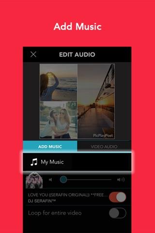 PicPlayPost - Video Editor screenshot 4