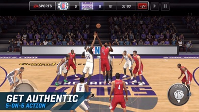 Screenshot #7 for NBA LIVE Mobile Basketball