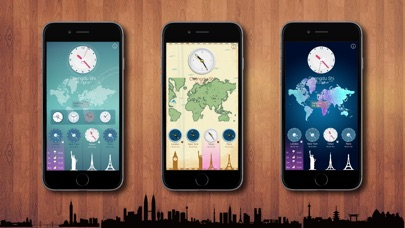 download World Clock HD for Time Zones apps 1