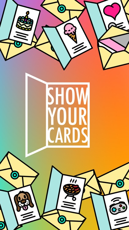 Show your cards greeting card stickers by daniel adams show your cards greeting card stickers m4hsunfo