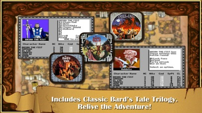 The Bard's Tale Screenshots