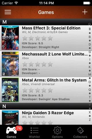 Video Games Database Scanner screenshot 1