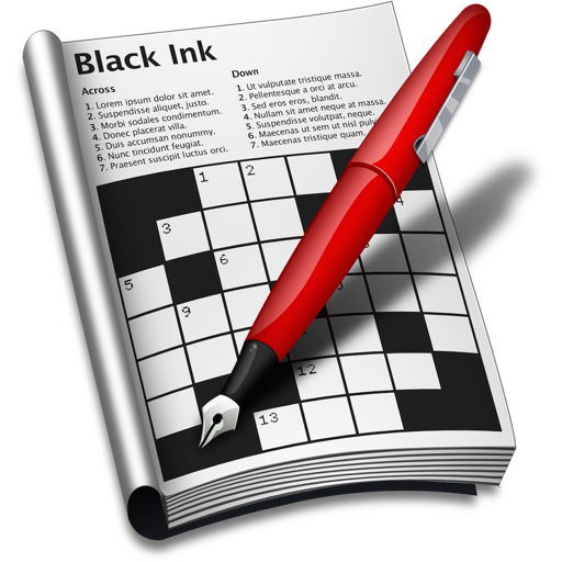 Black Ink - Solve crossword puzzles with style