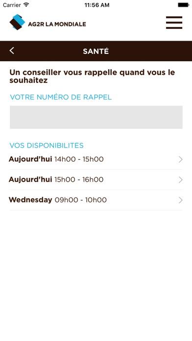 Service ClientCapture d'écran de 4