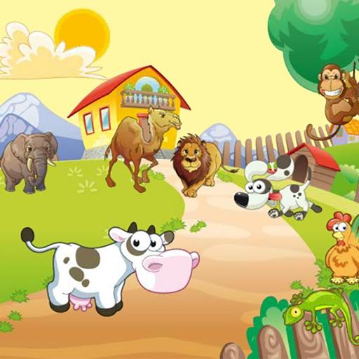 حيوانات مسلية للاطفال اصوات - اسماء - صور